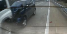 창원터널 4중추돌 사고입니다.