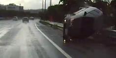 비오는날 운전조심하세요 그래도 아직 세상은 살만해요^.^